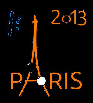 Logo du tournoi de Paris 2013 à la façon d'Aligre